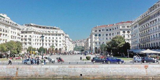 Het Aristotelesplein   Let's Meet in Thessaloniki