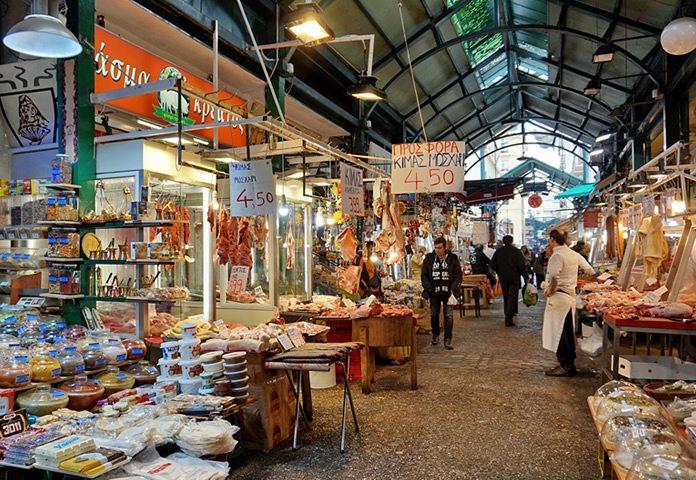De vleesmarkt