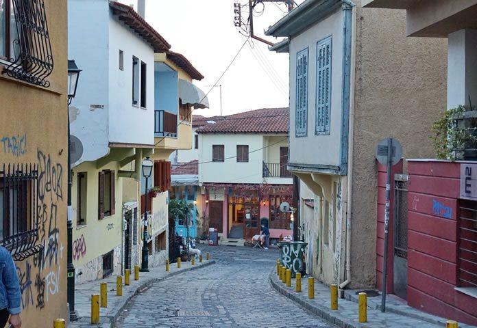 Stadwandeling Ano Poli Thessaloniki