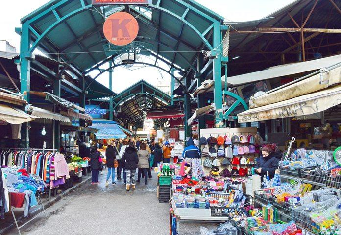 Bezoek gezellige markten in Thessaloniki