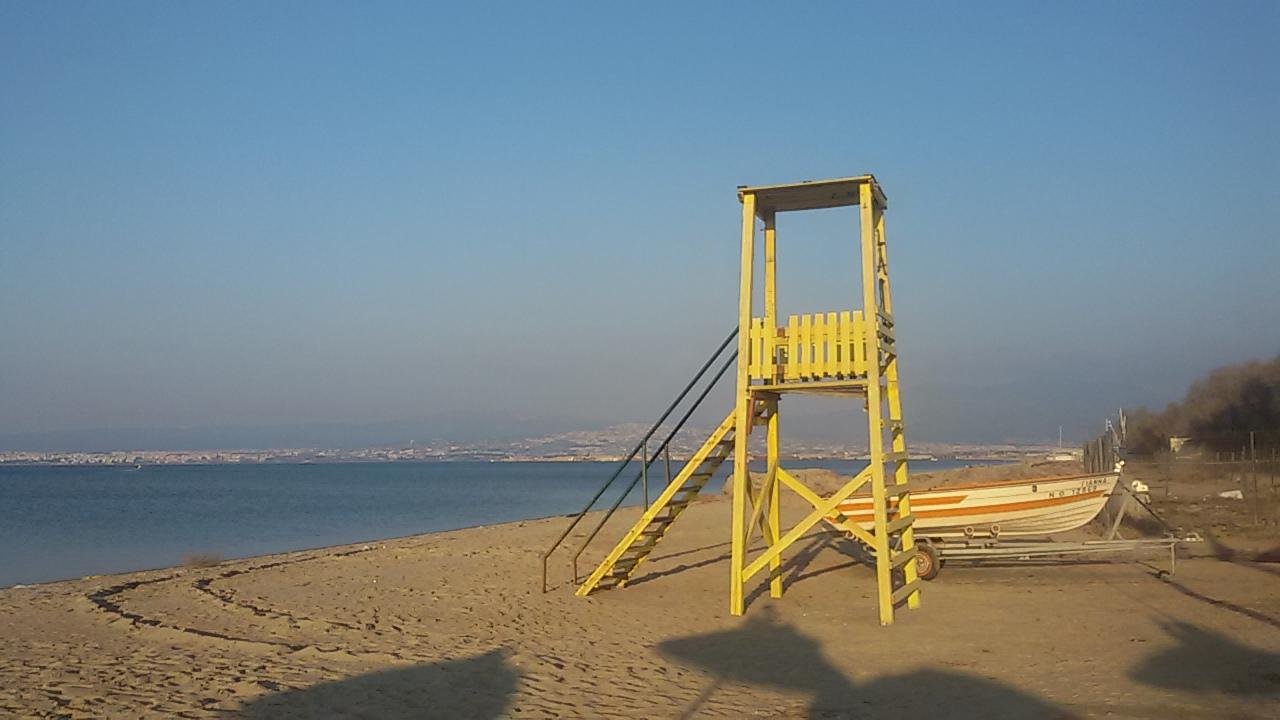 Een dagje strand in Peraia