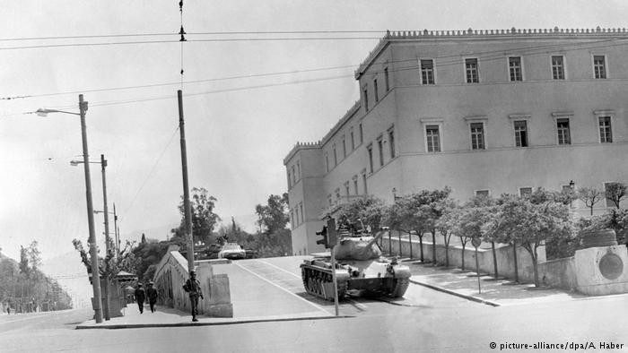 De militaire junta in Griekenland (1967-1974)